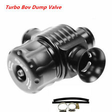 Aluminum Dual Port Blow Off Turbo Bov  (BLACK) Diverter Valve 25mm Universal