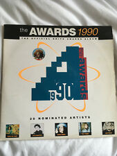 "The Awards 1990 - Brits Awards Double 12"" vinyl LP album compilation"