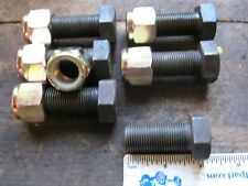 3/4 unf bolts x 1,3/4 inch long full thred with lock nuts x6 8.8 grade