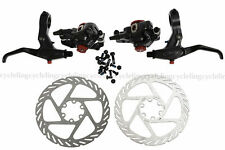 Avid Kit BB7 Front & Rear Calipers Rotors + FR7 Levers