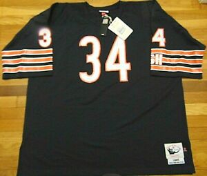 MITCHELL & NESS NFL CHICAGO BEARS WALTER PAYTON 1985 AUTHENTIC JERSEY SZ 4XL 60