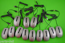 Dell Silver Laser Scroll USB Wired 6-Button Optical Mouse LOT OF 12 4K93W