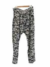 Designer Marnie Skilling Size Small Silk Mushroom Print Women's Pants