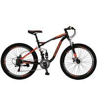 "Full Suspension Mountain Bike Shimano 21 Speed 27.5"" Mens Bicycle 2020 New"