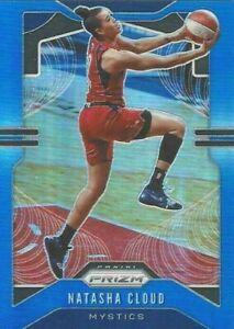 2020 WNBA PANINI PRIZM * NATASHA CLOUD BLUE PRIZM PARALLEL CARD 081/149 MYSTICS