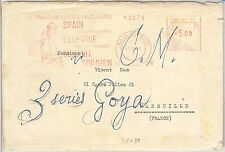 64891 - SPAIN - POSTAL HISTORY - Red MECHANICAL POSTMARK: MUSIC DANCE 1958