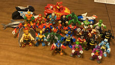 "LOT 28 Fisher-Price Imaginext 2012 DC Super Friends 3"" Figures + 3 Vehicles + 🦈"