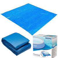 9ft / 11ft / 13ft / 16ft Bestway Ground Cloth Swimming Pool Floor Protector Mat