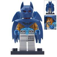 Blue Azbat Minifigure - Marvel Batman Figure Building Blocks Toys For Kid