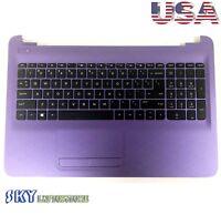 NEW Genuine HP 15-AC 15-AF Palmrest w/ Keyboard & Touchpad 813977-001