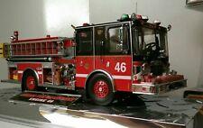 Code 3 Diamond Plate Series Chicago Engine 46 1:32 scale