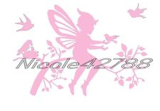 Vinyl Fairy Decal Sticker/Wall/Laptop/Tablet /Car Decal/Art n Crafts/Embelishmet