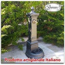 Fontana a colonna in ghisa h cm 125 da giardino piazza parco comune