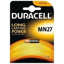 Pila de 12 Voltios Duracell MN27 Especial mandos apertura puertas