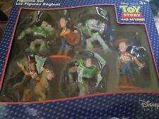 Disney Store Exclusive TOY STORY FIGURINE SET Buzz, Woody, Billseye PVC Figures