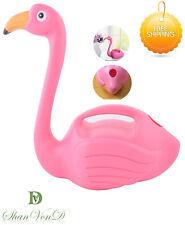 KIDS WATERING CAN Esschert Flamingo Design TG229 Pink Colour Plastic Garden Toy