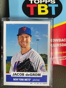 Jacob de Grom New York Mets Topps TBT 1961 Bazooka Panels Baseball Card