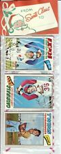 1977 Topps Baseball Holiday Christmas Rack Pack Murphy Dawson Rookie Possible?