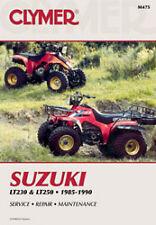 CLYMER REPAIR MANUAL Fits: Suzuki LT250S QuadSport,LT230S QuadSport,LT-F230,LT23