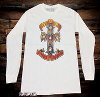 New Guns N Roses Men's 1988 Appetite for Destruction GNR Vintage T-Shirt