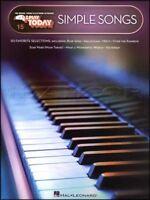 Simple Songs E-Z Play Today Keyboard Sheet Music Book John Lennon Elton John