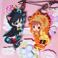 Set 2pcs Horimiya Rubber Keychain Cellphone Strap Charm