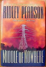 MIDDLE OF NOWHERE Ridley Pearson stated 1st Ed 2000 Mystery Hardcover & Jacket