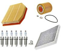 Service Kit For BMW Z4 E85 E86 2.5 si 3.0 Air Oil Cabin Filter Bosch Spark Plugs