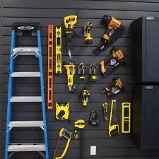 Gray Wall Panel Kit 4 Ft. Slatwall Garage Shop Tool Storage Organization Hanger