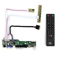 TV HDMI VGA AV USB AUDIO LCD Controller Board For LP173WD1 B173RW01 1600x900 LCD