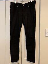 levis 711 skinny jeans women's 31 size 12 black