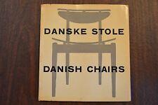 Danske Stole Danish Chairs by Nanna & Jorgen Ditzel, 1954 Denmark VERY RARE