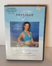 Physique 57 Full Body Express 30 Minute Workout DVD Tanya Becker