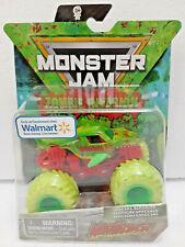 Megalodon (2020) Zombie Invasion Spin Master Monster Jam 1:64 Scale Neon Truck