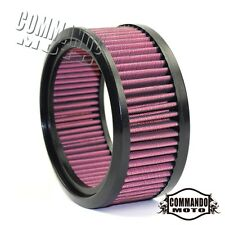 Frames & Fittings Red Motorcycle Round Air Filter For Harley Models With S&s Super E And G Series Carb Air Filter