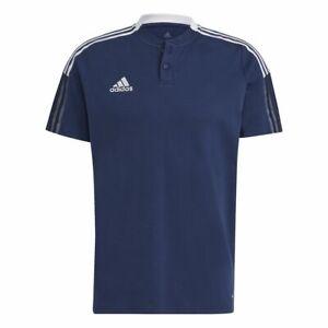 Adidas Football Soccer Tiro 21 Kids Sports Casual Short Sleeve SS Polo Shirt
