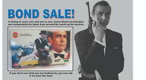 James Bond 007 Model Kit Airfix James Bond & Oddjob 04402 1:12 Scale 1998