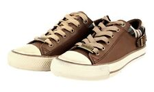 LUXUS BELSTAFF SNEAKER JAIR SCHUHE 757075 BROWN NEU NEW 36 36,5