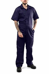 KC04 - Kolossus Deluxe Short Sleeve Cotton Blend Coverall with Multi Pockets