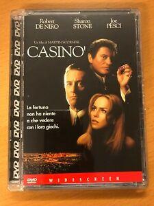 CASINO' ROBERT DE NIRO DVD SUPER JEWEL BOX ☆