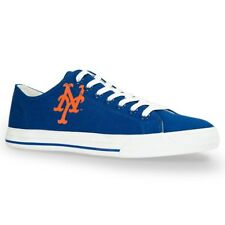 New York Mets MLB Team Apparel Logo Row One Men Women Kids Sneakers Low Top Shoe