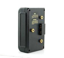 Li-ion Battery 14.8v 160Wh Gold Mount D-Tap P-Tap for DSLR Video Camera 5D2
