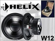 "HELIX AUDIO W12 12"" NEW Subwoofer Competition Car Audio Speaker Audiotec Fischer"