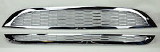 Mini Cooper 02-06 Front Hood & Bumper Chrome 2pc Grilles Top Bottom