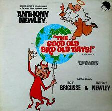 GOOD OLD BAD OLD DAYS - ANTHONY NEWLEY - U.K. PRESSING - ORIG. CAST - EMI LP