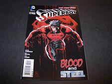 NEW 52 SUPERBOY #20 1ST PRINT DC COMICS JUSTIN JORDAN RB SILVA ROB LEAN SUPERMAN