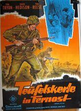 TEUFELSKERLE IN FERNOST (Filmplakat / Kinoplakat '61) - TOM TRYON / DILL-Grafik