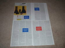 B&W THX Home Speaker System Review,1994,4 pgs, Ultra!