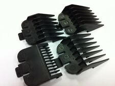 WAHL Clipper Guard Attachment Combs in Black - Size 1-4