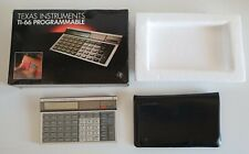 Calcolatrice Texas Instruments TI-66 Programmable Made in Japan Vintage
